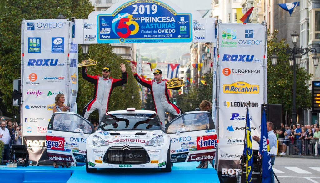 Roberto Blach Jr - Post Rallye Princesa de Asturias