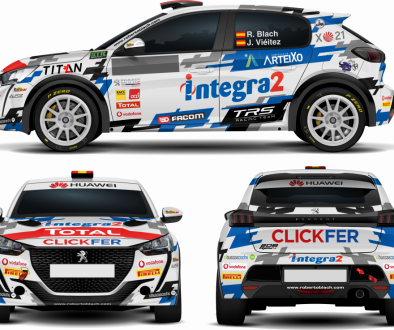Peugeot 208 Rally4 - Roberto Blach
