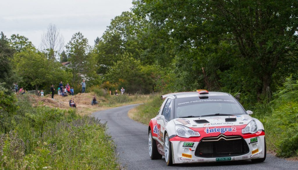 Roberto Blach Jr - Post Rallye Ourense