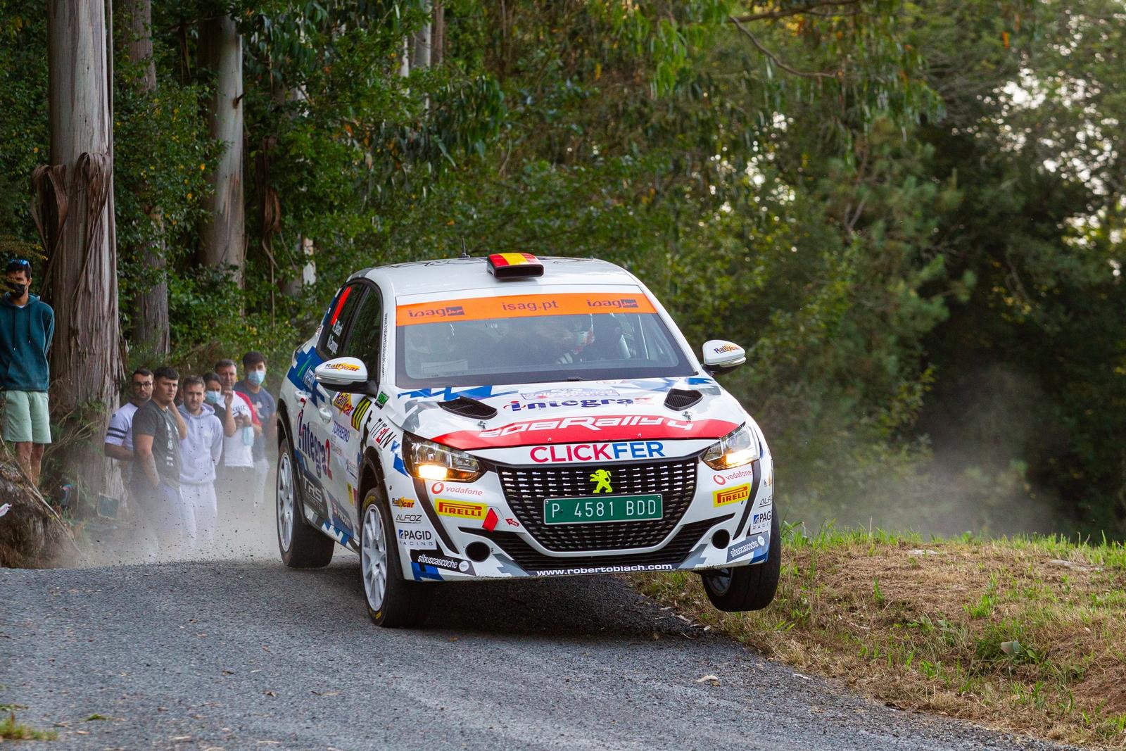 Roberto Blach Jr - Post Rallye de Ferrol