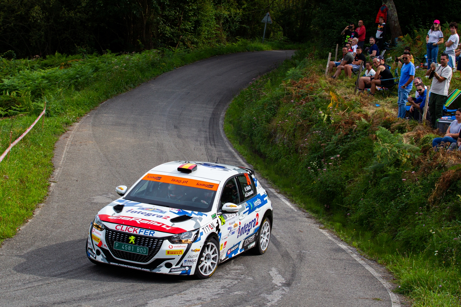 Roberto Blach Jr - Post Rallye Princesa Asturias